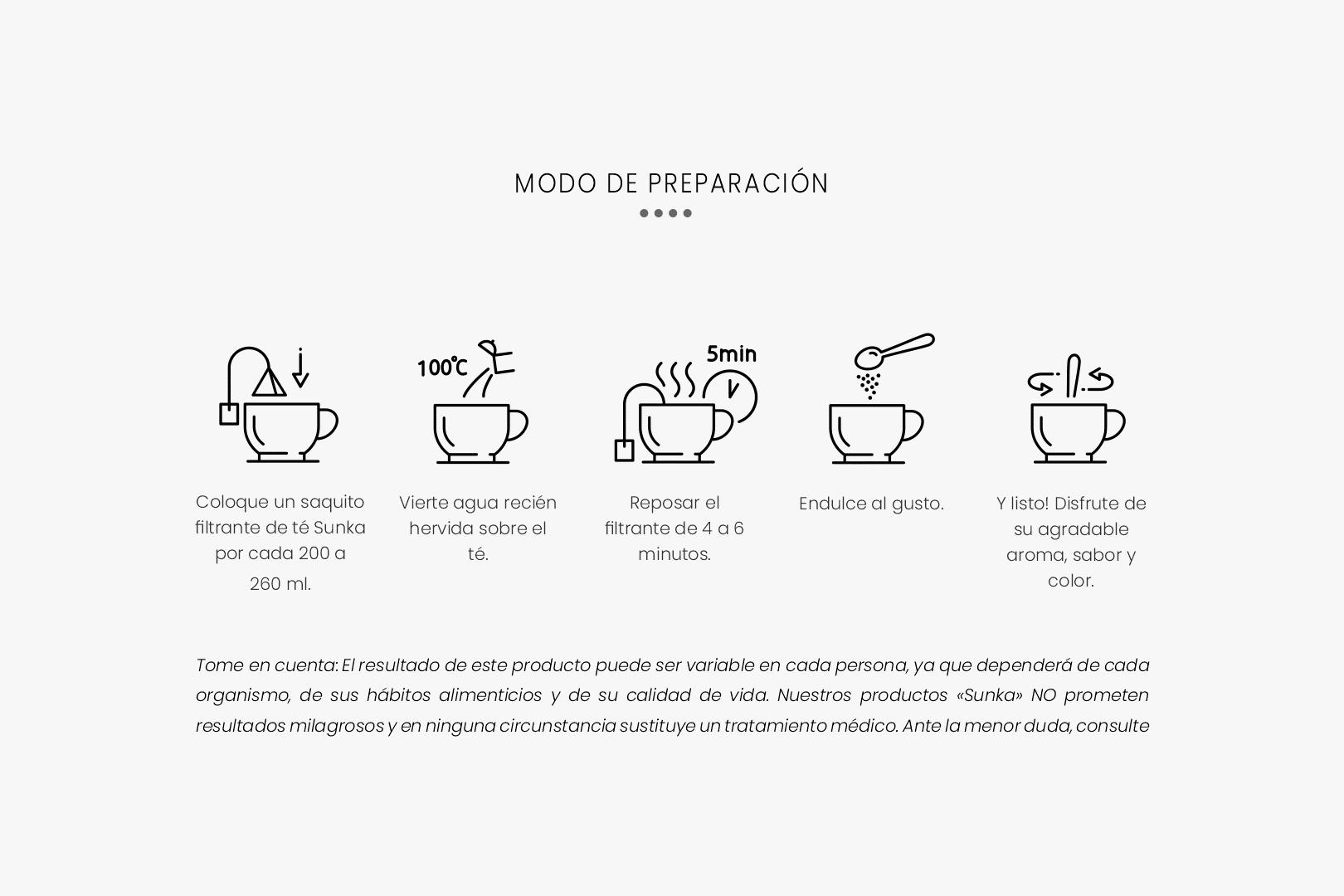 modo de preparacion sunka herbal tea